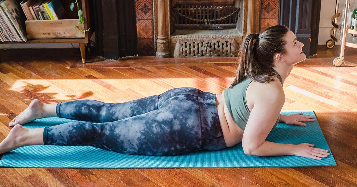 Yoga kan hjälpa mot ryggvärk